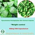 Gynostemma Pentaphyllum - Jiaogulan - 20:1 extract capsule 500mg*500 Capsules