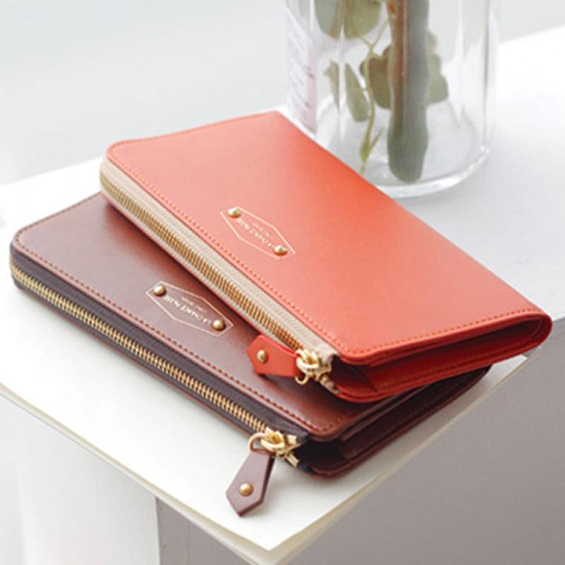 Multifunction Long women's purse women wallet 19.2*9.5*2.5cm