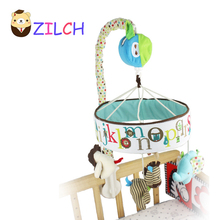 SKK Baby friendly forest animals turn the music box crib bell baby toys