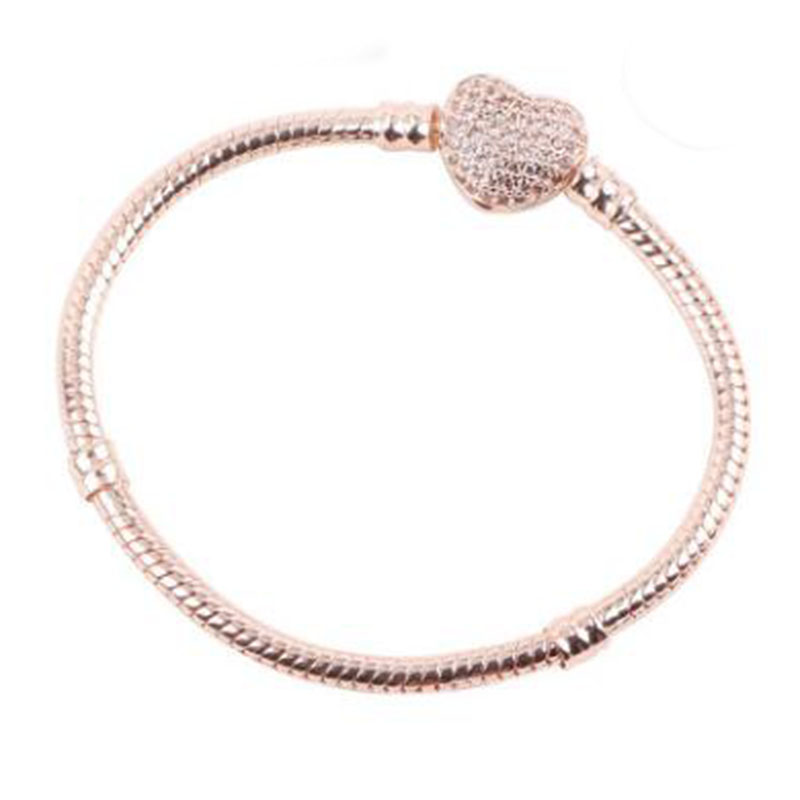 283e09e553273 Hot Sale] THLIVEOU 16 21cm Three Layers Plating Zircon Inlay Heart ...