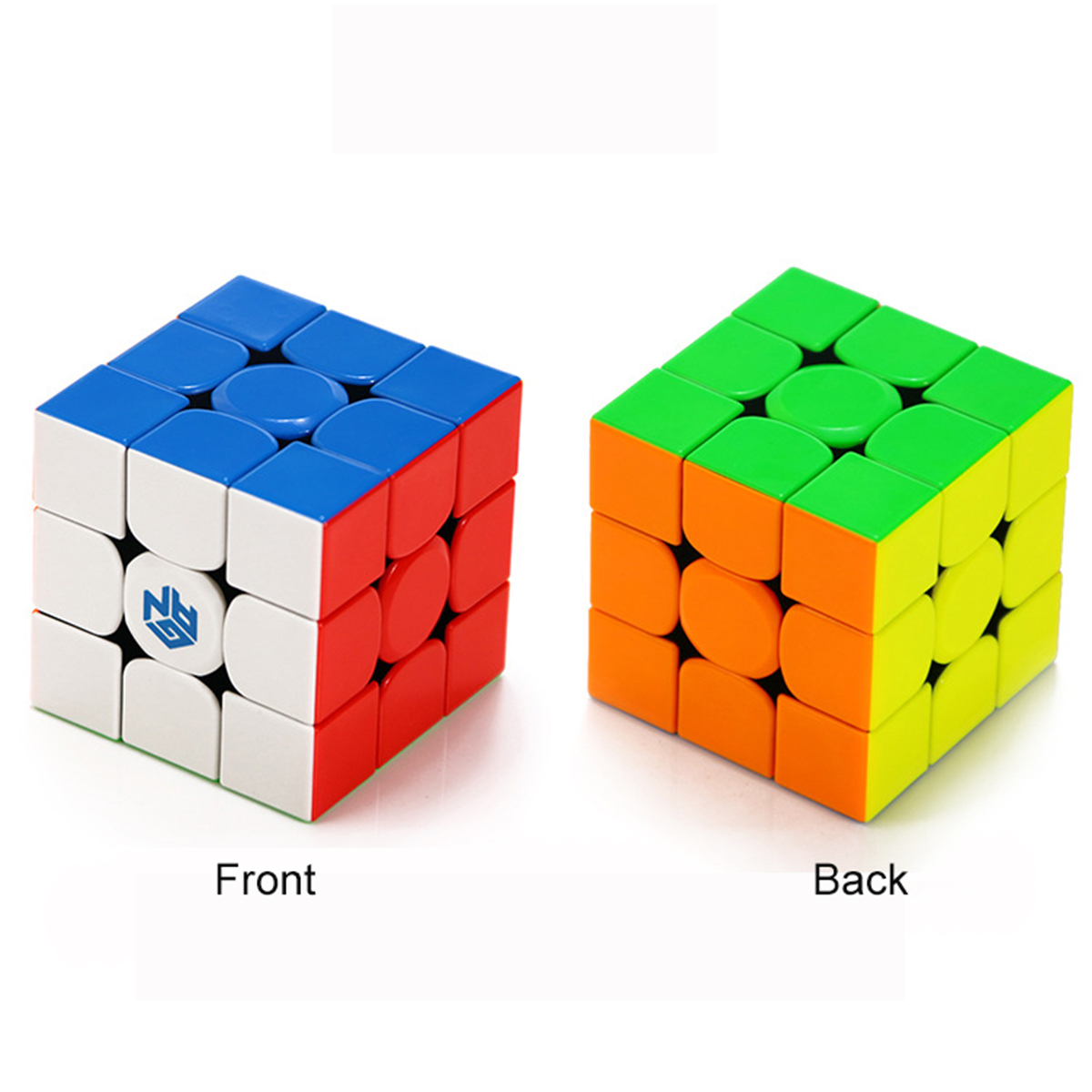 Gan GAN354M 3x3x3 Stickerless Magnetic Gan 354 M Magic Cube Speed Puzzle Game Cubes Educational Toys For Children Christmas Gift