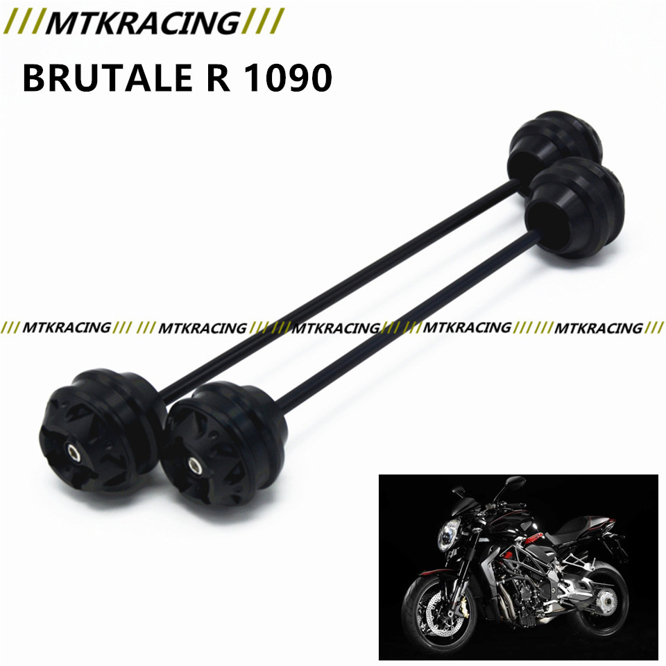 MTKRACING Free delivery for MV agusta BRUTALE R 1090 2012-2017 CNC Modified Motorcycle Front wheel drop ball/shock absorber mtkracing free delivery for kawasaki z1000sx 2011 2015 cnc modified motorcycle front wheel drop ball shock absorber