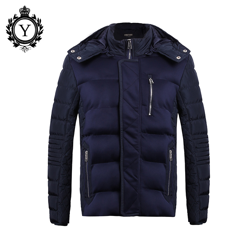 ФОТО Winter Jacket Men 2016 New Men's Cotton Blend Mens Jacket And Coats Casual Thick Outwear For Men Plus Size Clothing Male 3XL 105