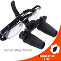 Nickel Alloy Frame 4.0x 4x Magnification Binocular Dental Loupes Surgical Medical Dentistry Prismatic Keplerian Style