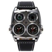 4bc04932ef3 2018 Relógios dos homens Frescos de Esportes Casuais relógio de Pulso de  Quartzo com Pulseira de. 3 Cores Disponíveis