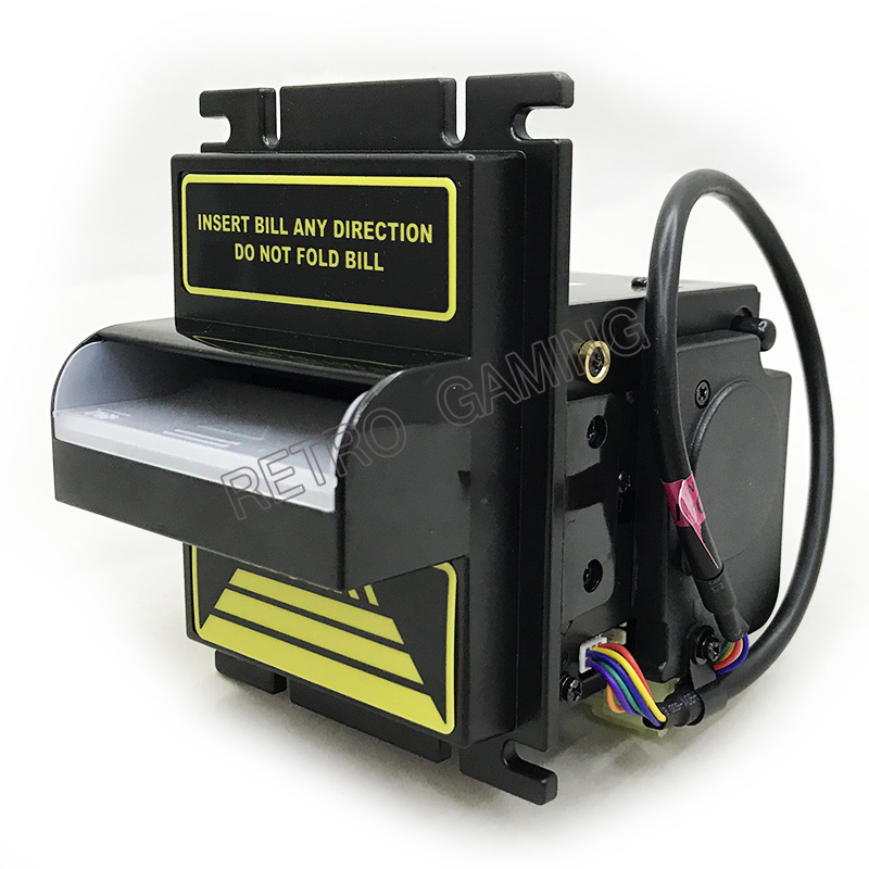 US $179 99 |Multinational Currency Speedy ICT Bill Transaction Bill  Acceptor Note Cash Acceptor for Vending Machine TP77PA-in Coin Operated  Games from