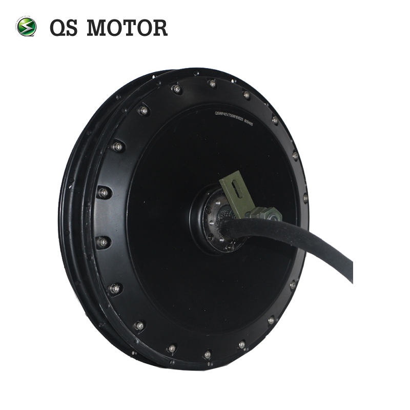 <font><b>QS</b></font> <font><b>Motor</b></font> <font><b>273</b></font> Bicycle Hub <font><b>Motor</b></font> 4000W V3 100KPH For Electric Bicycle image