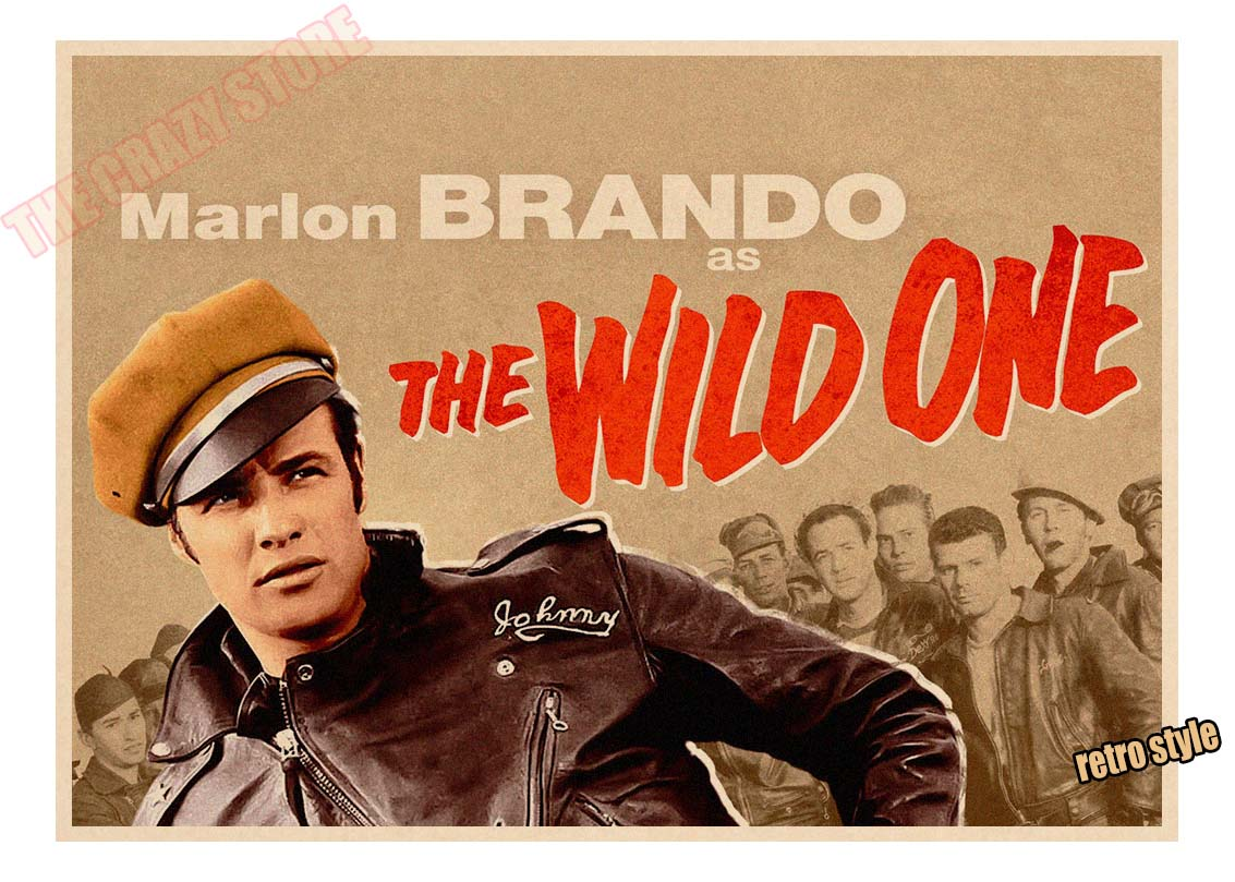 Image result for the wild one poster