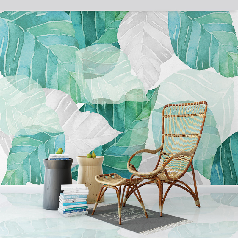 Custom Photo Wallpaper Modern 3D Abstract Leaf Photo Wall Mural Living Room Bedroom Background Wall Painting Art Wall Papers 3 D