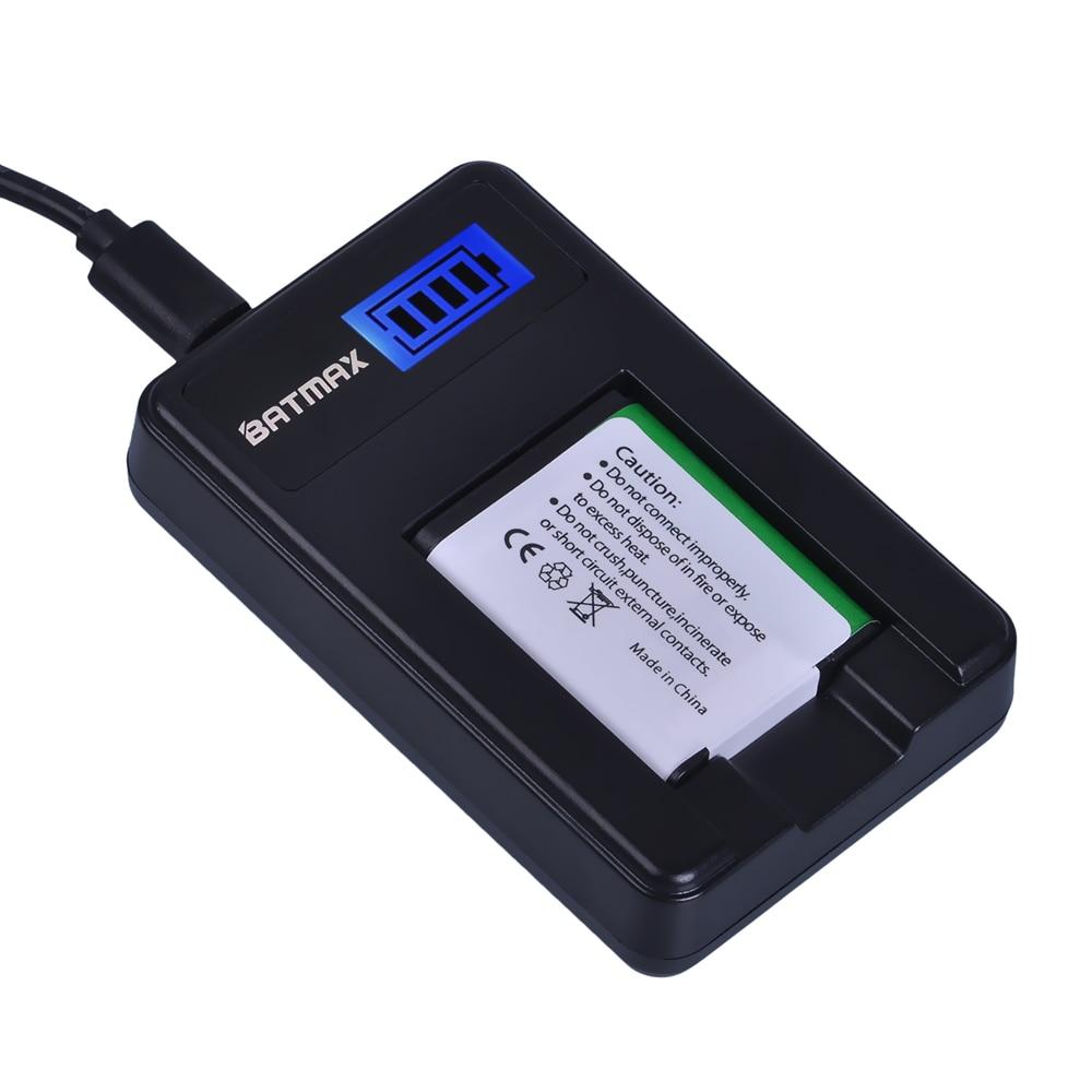 1 pc 1200 mAh EN-EL19 es EL19 ENEL19 batería + LCD USB cargador para Nikon S100 S2500 S2600 S3100 S6400 s4100 S4150 S3300 S4300