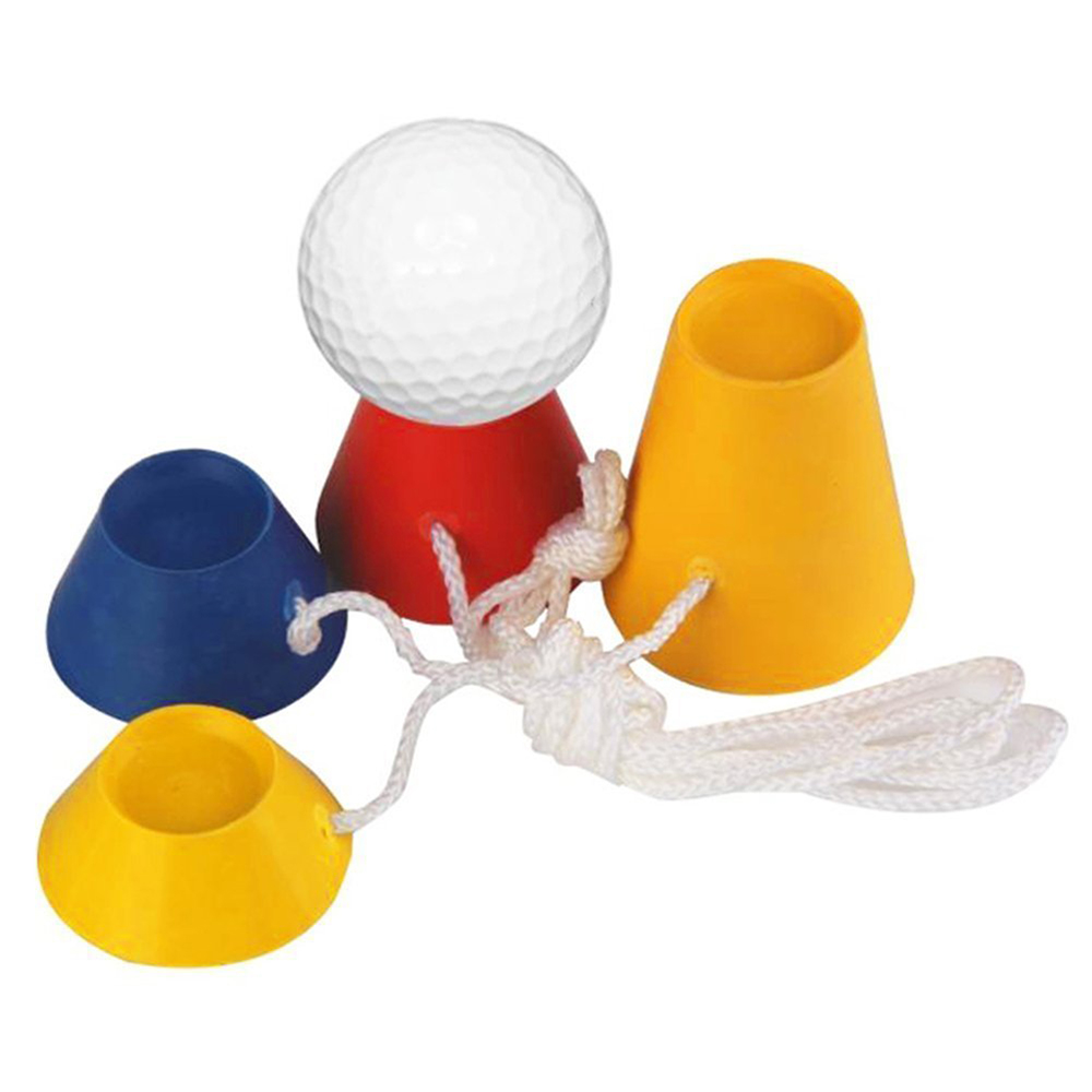 New Rubber Golf Tees with Different Heights for Frosty Winter Days 4PCS/Pack free shipping