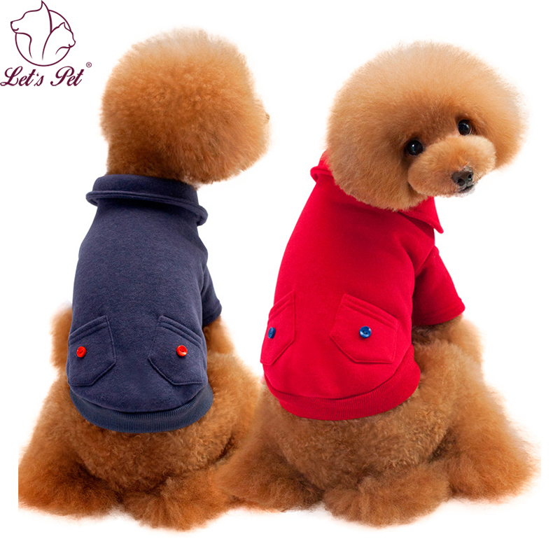 Pet dog clothes for small medium dogs jackets coats pet ...