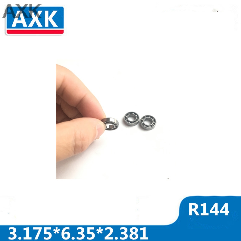 AT Bearing 10x16x5mm RS chrome steel rubber shielded 1pc