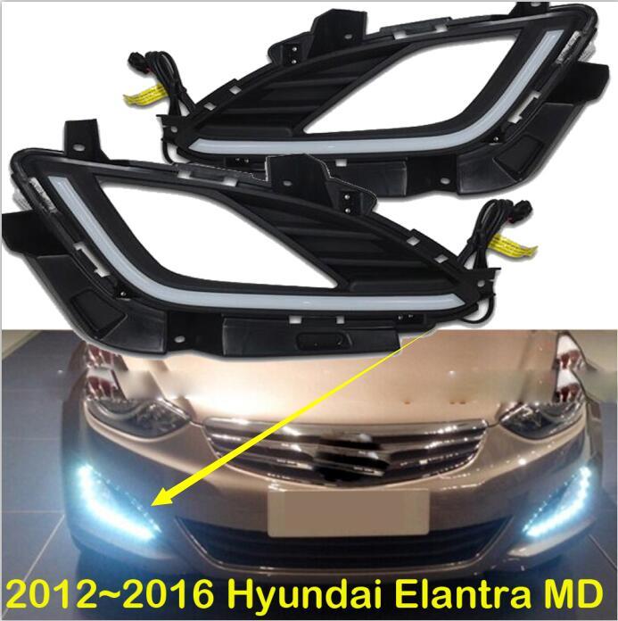 2012~2015 Elantra MD Daytime Light,tucson,santa Fe,Free Ship To Your Door!accent,LED,Elantra Fog Light,2ps/set;solaris;ix45