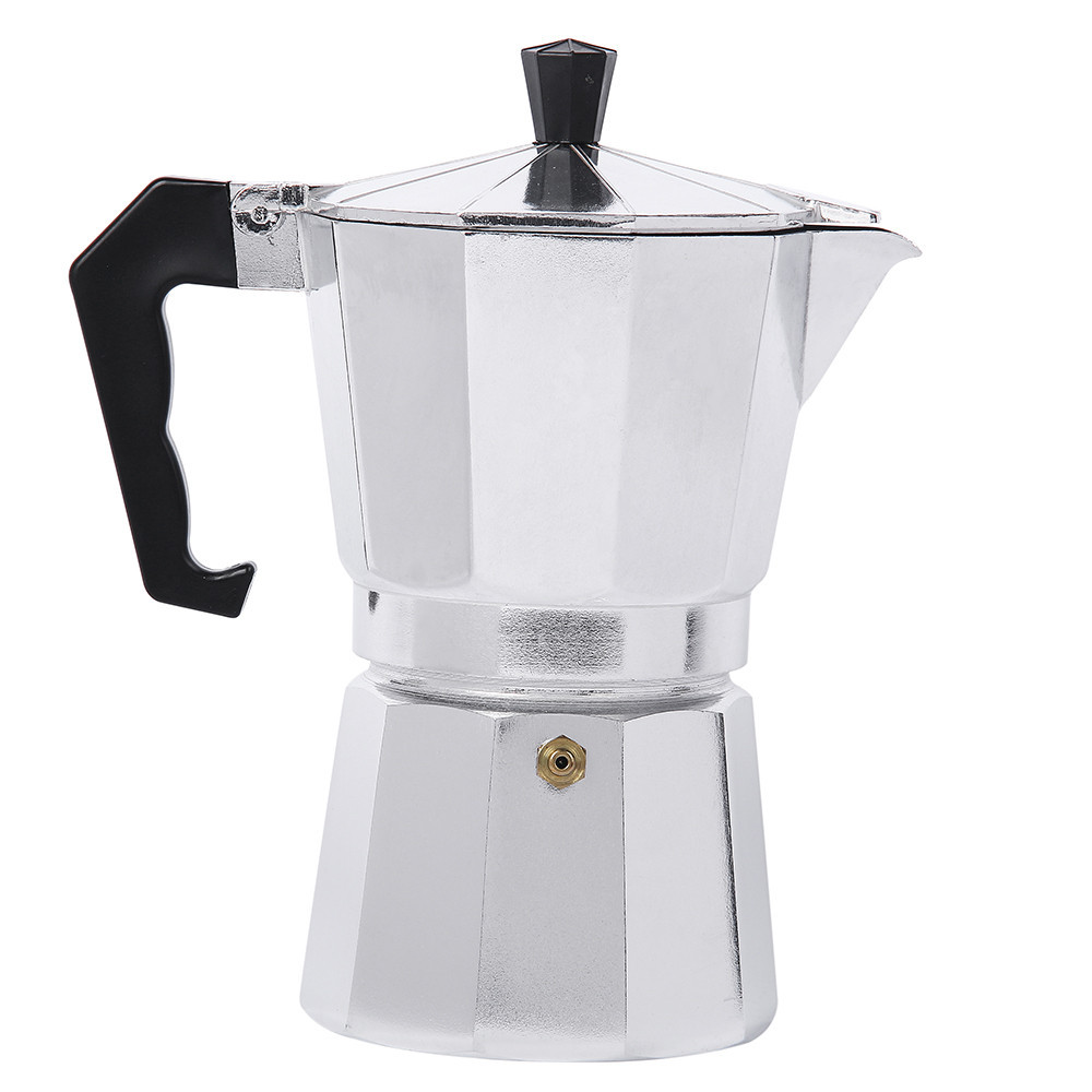 Aluminum coffee maker machine mug Espresso Mocha Coffee pot Continental coffee pot turkey octagonal coffee pot tools термокружка emsa travel mug 360 мл 513351