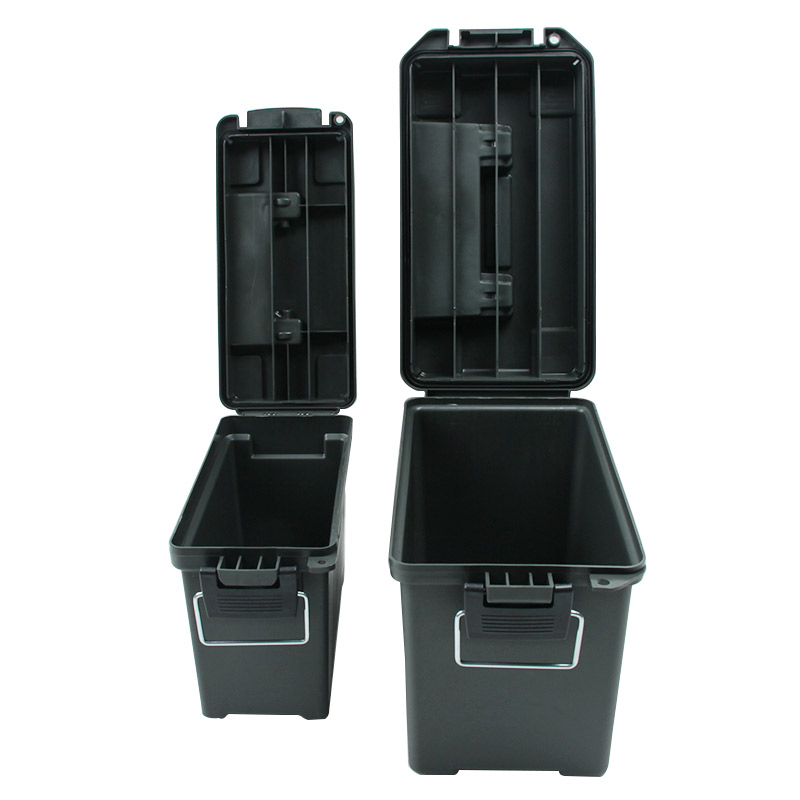 Ammo Box Military Style Plastic Storage Can Heavy Duty Caliber Bulk Ammo Crate for Long Term Storage Tactical Bullet box  (17)