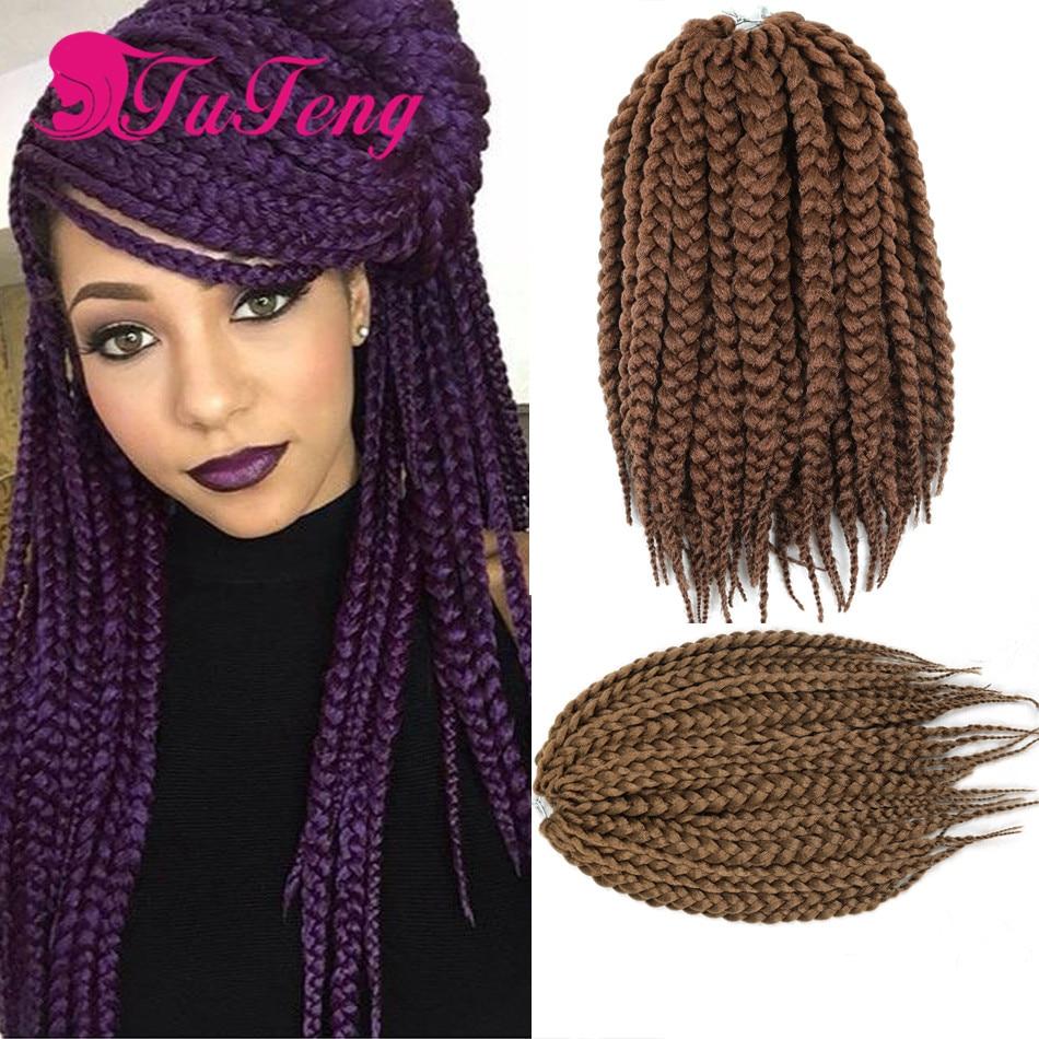 """12"""" box braids hair crochet"""