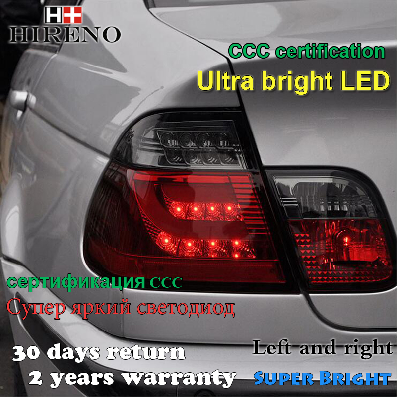 Hireno Tail Lamp For Bmw E46 320i 328i 325i 2001 2002 2003 2004 2005 Led Taillight Rear Parking Brake Turn Signal Lights In Car Light Embly From