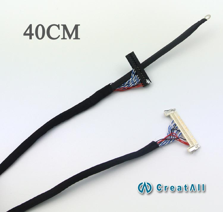 The Right Power Supply 8-screen Single-line FIX-30P-D8 Clip Ground 40cm