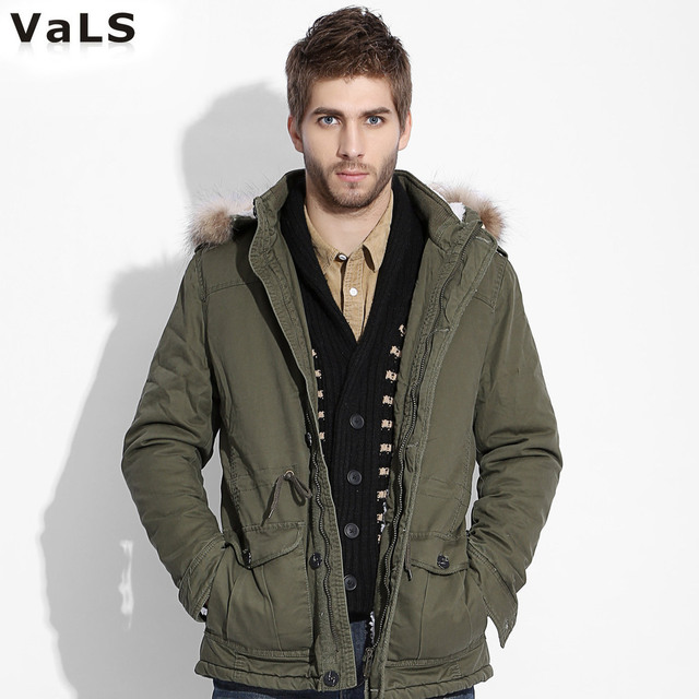 Brand High Quality Hoody Winter Parka Men, Thicken Long Warm Army ...