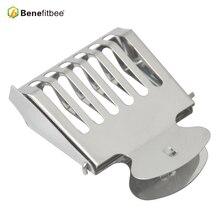 Benefitbee 양봉 도구 꿀벌 여왕 케이지 스테인리스 양봉 장비 공급 업체 5pcs 뜨거운 판매 높이 품질 케이지