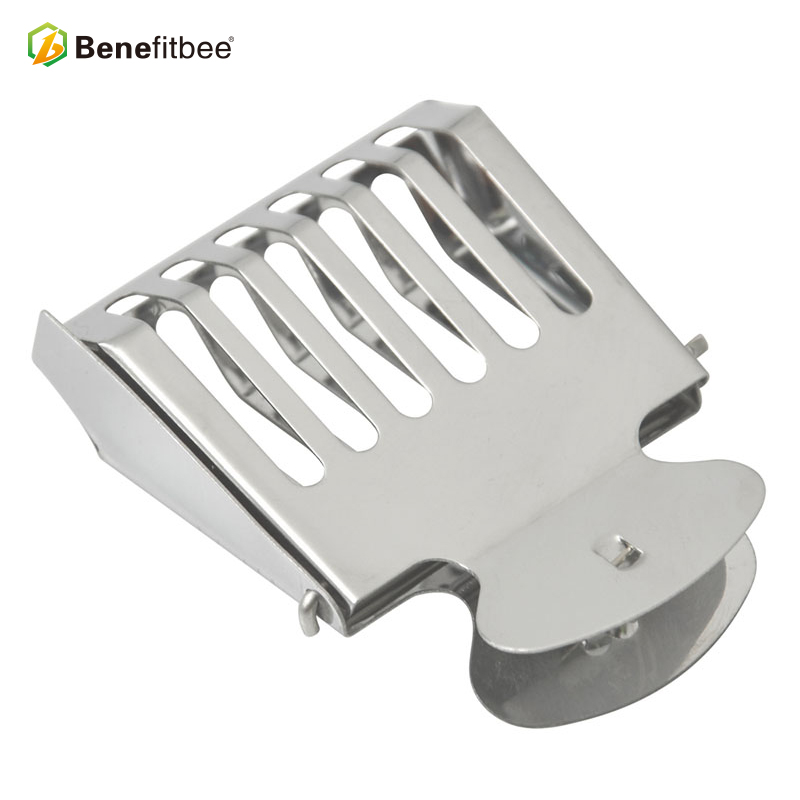 Benefitbee Beekeeping Tools Bee Queen Cage Stainless Steel For Beekeeping Equipment Supplier 5pcs Hot Sale Height Quality Cages-in Beekeeping Tools from Home & Garden