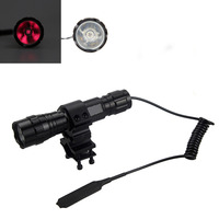Mount Gun 7W 940nm Infrared Radiation IR LED 501B Night Vision Flashlight Torch
