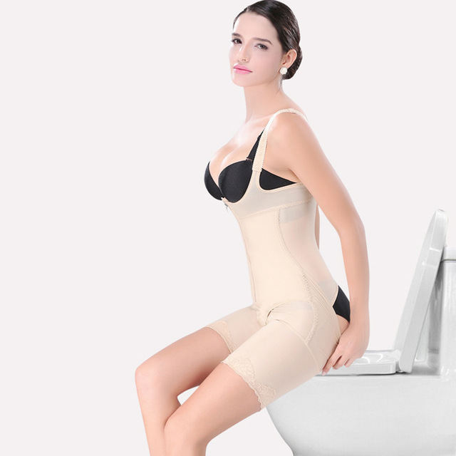 Señora Cintura Firm Body Magia de Ropa Interior Sujetador Corsé Mujeres Fajas Postparto Adelgazar Trajes Body Shaping fácil WC