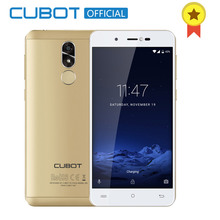 Cubot R9 Quad Core MT6580 Android 7.0 D'empreintes Digitales 2 GB RAM 16 GB ROM Smartphone 5.0 Pouce 1280×720 HD Écran 13.0MP Caméra Celular