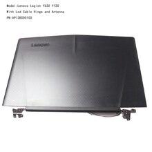Orijinal yeni Lenovo Legion Y520 R720 Lcd kapak arka kapak arka kapak üst kılıf konut w/menteşeler ve kablo AP13B000100 5CB0N00250