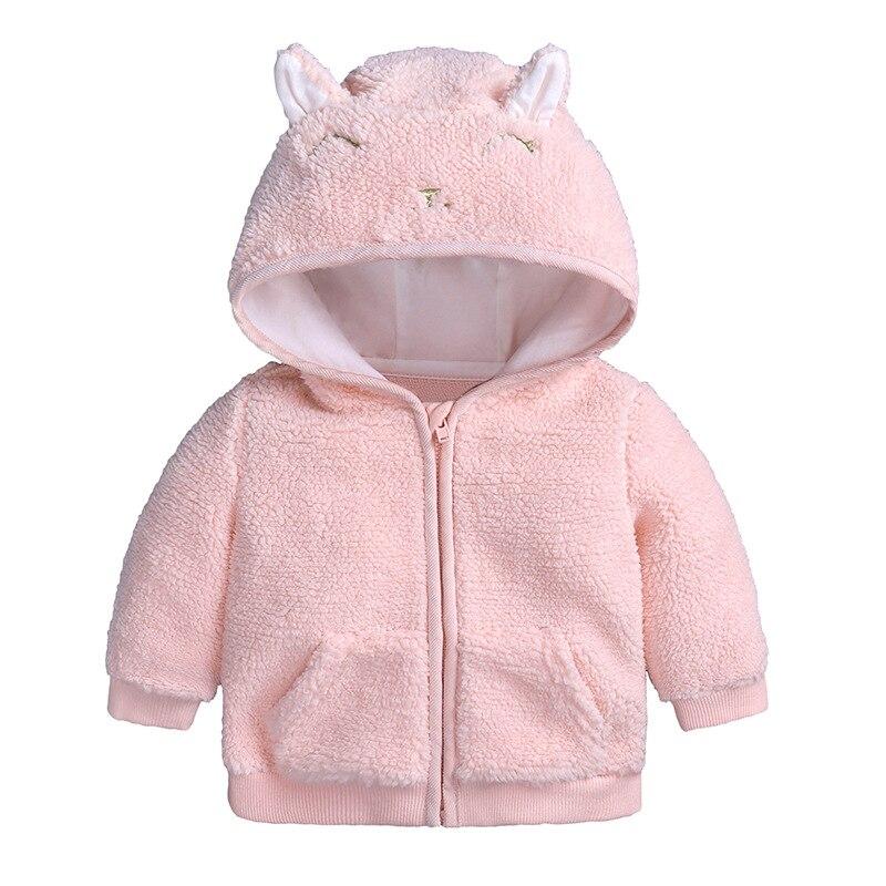 2018 Förderung Baby Jacke Strickjacke Infantil Mantel Kinder Flanell Oberbekleidung Winter Mit Kapuze Mäntel Kinder Warme Jungen Kleidung Vertrieb Von QualitäTssicherung