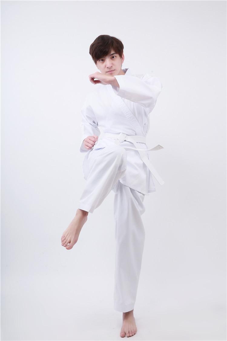 Japan Cotton Karate Suit Martial Arts Uniform Aikido  White Karate Uniform Training Suit Children And Adult high quality kendoist white kendo laido aikido hapkido hakama martial arts uniforms japanese dobok sz xxs 6xl