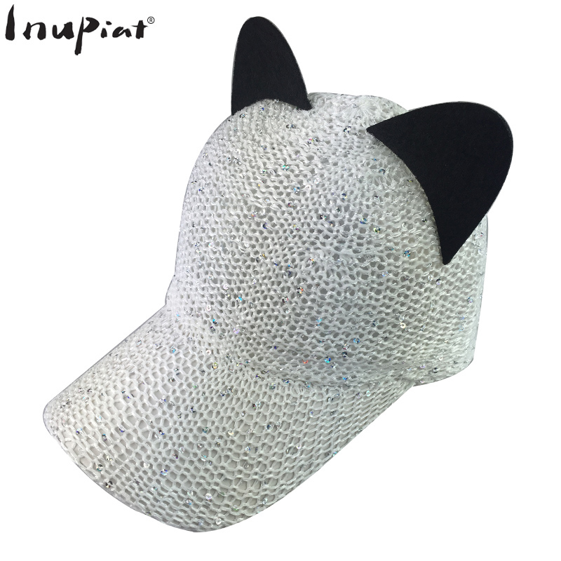 womens baseball caps bling hats with font women