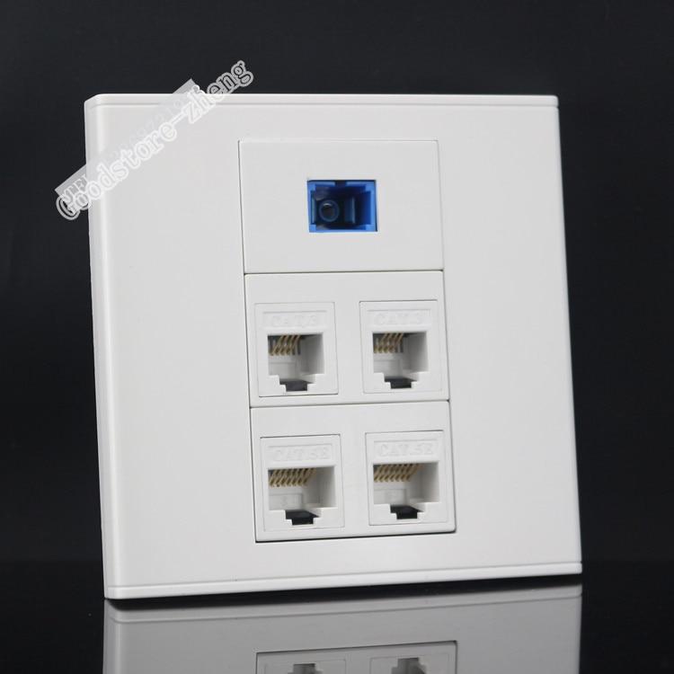 aliexpress com buy wall socket plate 5 ports 2 ports network lan rh aliexpress com