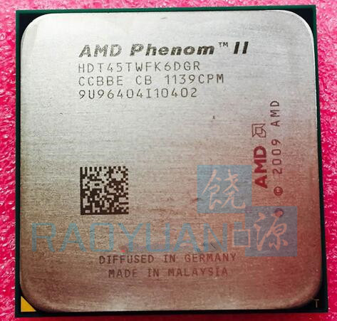 AMD Phenom X6 1045T X6-1045T 2.7GHz Sex Core CPU-processor - Datorkomponenter