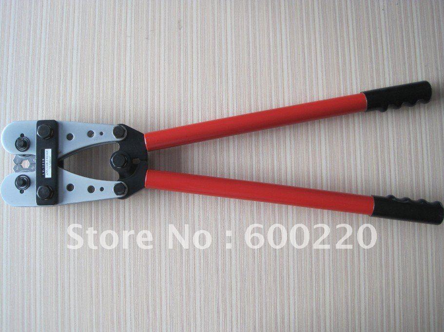 ФОТО LX-120B Hand Crimping Tools Modular Crimping Tool 10-120mm2 install copper lugs,c taps alumiun lugs crimping tool