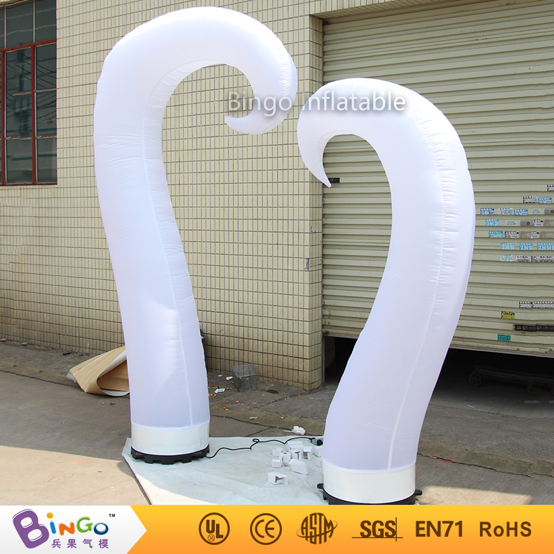 Heart shape inflatable lamp post / inflatable lighting decoration for wedding N Valentine ' s Day celebration light up toy heart shape inflatable lamp post inflatable lighting decoration for wedding n valentine s day celebration light up toy