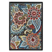 DIY Creative Special Shaped Diamond Painting Notebook Diary Book 60 Page A5 Notebook Embroidery Diamond Cross Stitch Craft Gift craft page 1