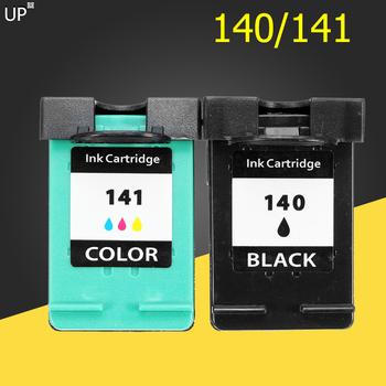 Się napełnić wymiana wkładu z tuszem do HP 140 141 dla hp C4583 C4283 C4483 C5283 D5363 Deskjet D4263 D4363 C4480 drukarki tanie i dobre opinie CN (pochodzenie) Pełna Kompatybilny HP Inkjet with ink