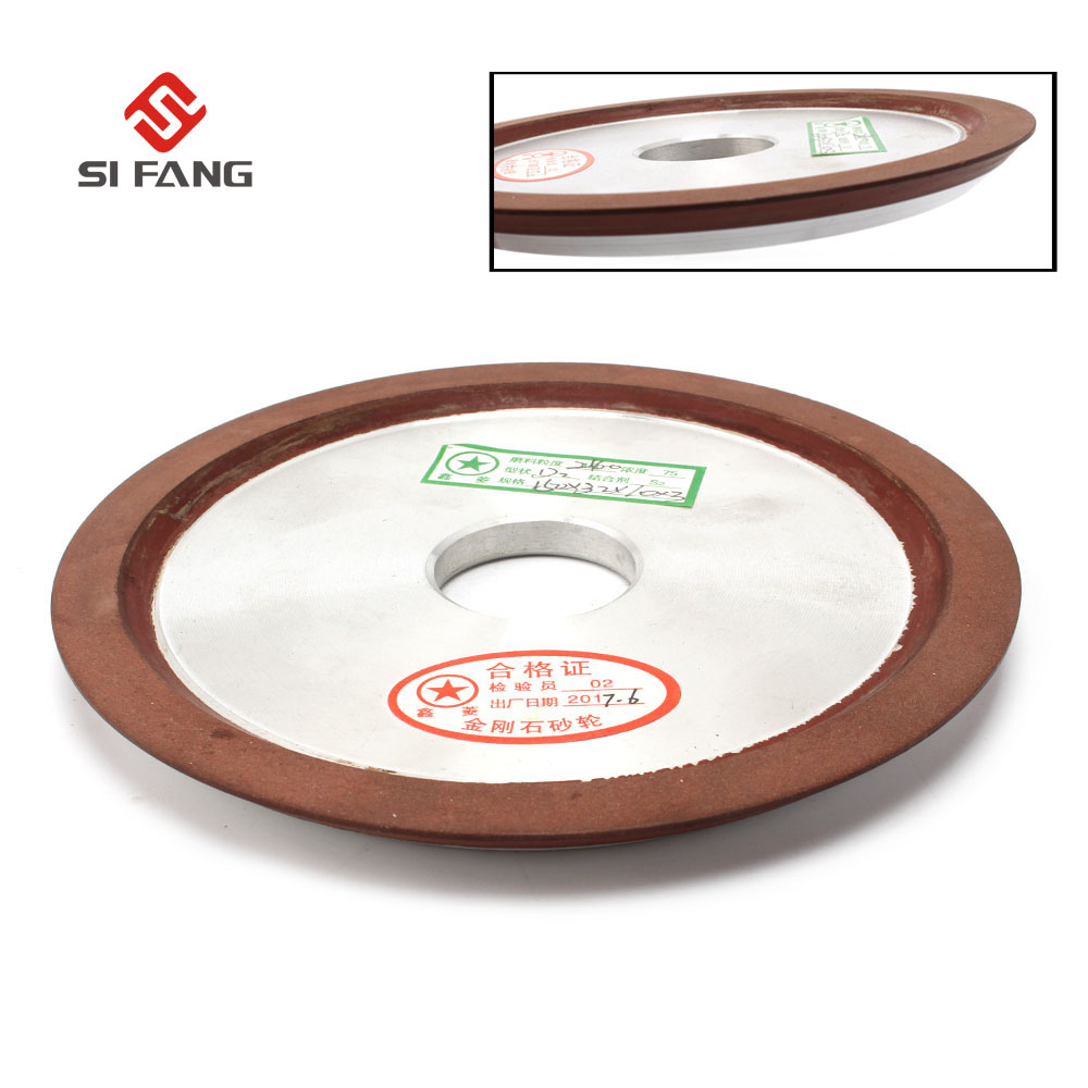 150mm Diamond grinding wheel diac 150 grit Hypotenuse For Carbide Milling Cutter Power Tool D2