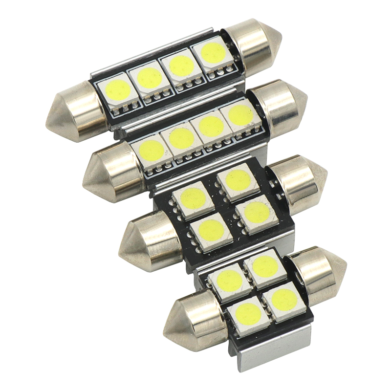 High Quality 31mm 36mm 39mm 42mm C5W C10W Super Bright 3030SMD Car LED Festoon Light Canbus