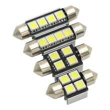 High Quality 31mm 36mm 39mm 42mm C5W C10W Super Bright 3030SMD Car LED Festoon Light Canbus Error Free Interior Doom Lamp Bulb