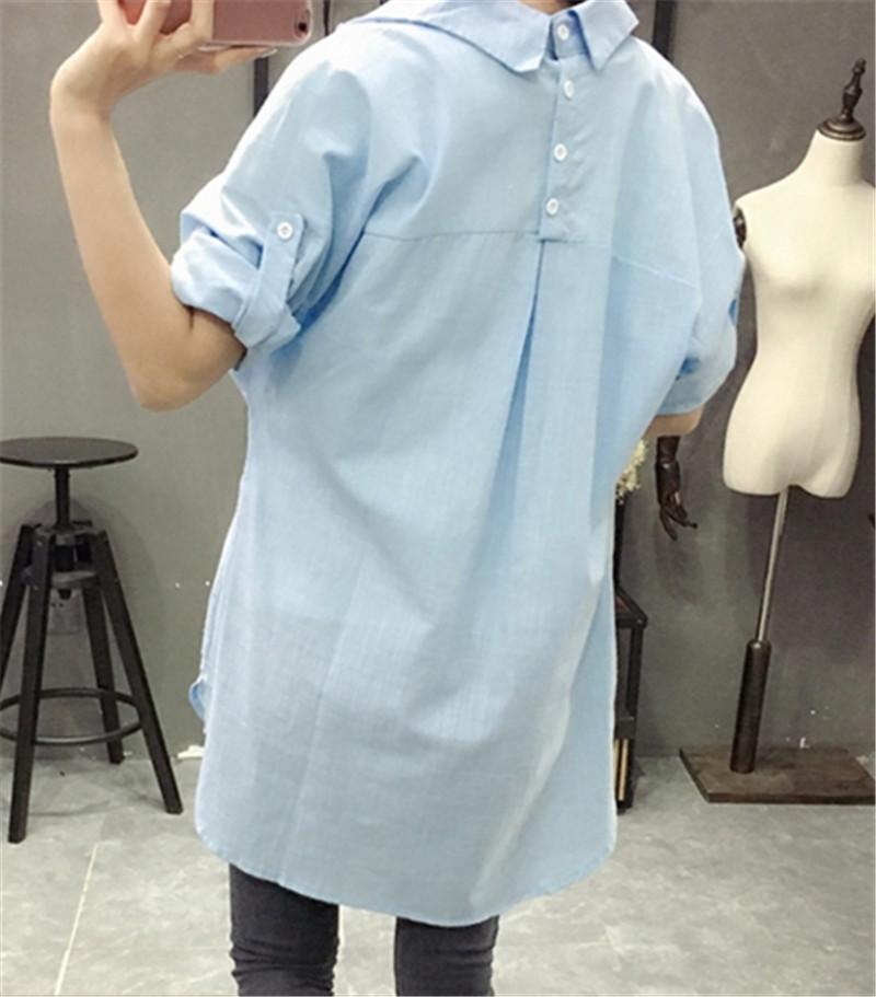 HTB14A32PVXXXXcjXpXXq6xXFXXXO - Woman Blouses Office Lady OL Elegant Shirt