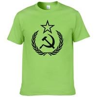 2019 new arrival men/women t shirt CCCP USSR Soviet Russian KGB Hammer Sickle ARMY T Shirt UH