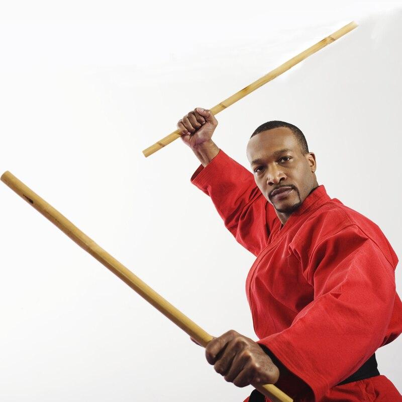 Wing Chun Wushu Practice Stick Solid Wood Stick Shaolin Kung Fu Stick