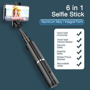 Image 2 - CAFELE Bluetooth Selfie מקל נייד כף יד חכם טלפון מצלמה חצובה עם אלחוטי מרחוק עבור iPhone סמסונג Huawei xiaomi