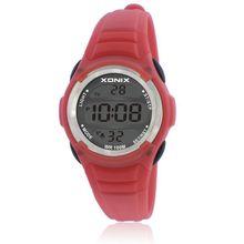 XONIX Women Sport Watches Cute Kids Watches Sports Cartoon Watch for Girls boys Rubber Children's Digital LED Wristwatches Reloj
