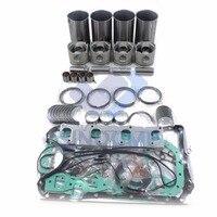 4BE1 Engine Overhaul Kit For ELF35 Turck Hitachi Sumitomo Excavator Z 5 87811 996 1 Z 5 87810 724 3 Engine Rebuilding Kits     -