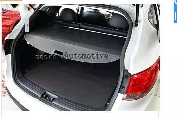 High Quality!!! Black Color 2013 2014 for Mitsubishi Outlander 3 2013 2014 Rear Trunk Cargo Cover Luggage Security Shield