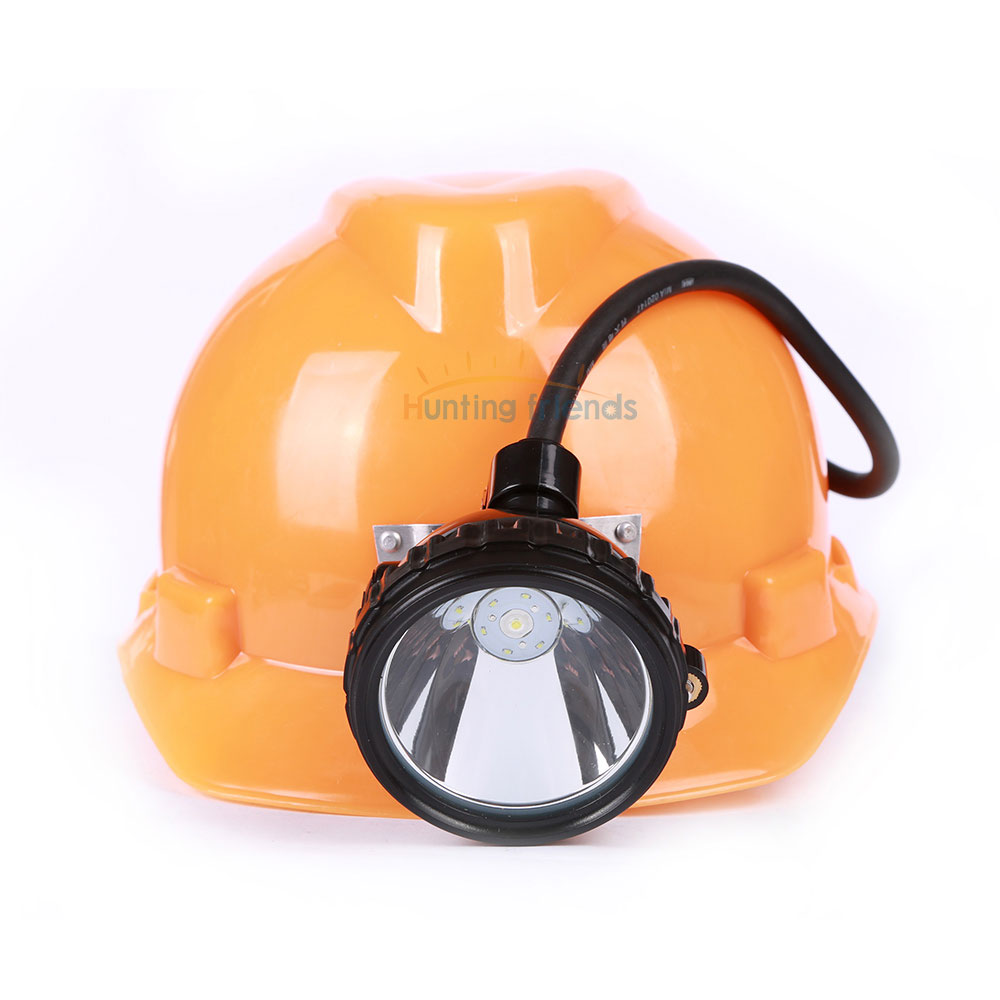 Купить с кэшбэком Hunting Friends 1+6 LED Mining Headlamp KL8M.Plus Professional Explosion Proof Mining Cap Lamp Waterproof Headlight for Outdoor